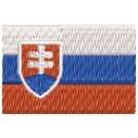 Flagge Slowakei mini