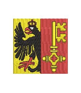 Flagge Genf midi
