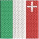 Flagge Neuenburg midi