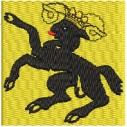 Flagge Schaffhausen midi