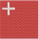 Flagge Schwyz midi