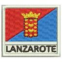 Flagge Lanzarote mini