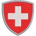 Wappen Schweiz format Scudo grösse midi