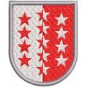 Wappen Wallis grösse midi