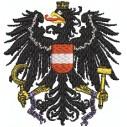 Wappen Adler Österreich mit ketten midi