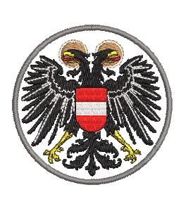 Wappen Österreich midi mit umrand