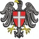 Wappen Wien mit Adler und brustschild midi