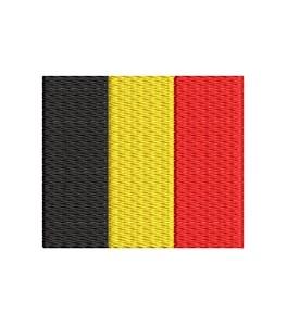 Flagge Belgien midi