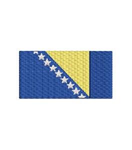 Flagge Bosnier midi