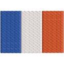 Flagge Frankreich midi