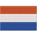 Flagge Niederlande midi
