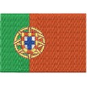 Flagge Portugal midi