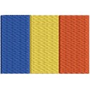 Flagge Rumaenien midi