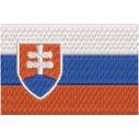 Flagge Slowakei midi