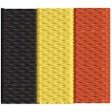 Flagge Belgien mini
