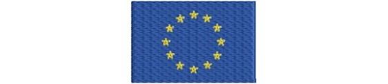 Aufnäher Flaggen  EU Staaten grösse  midi