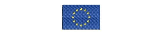 Aufnäher Flaggen  EU Staaten grösse  mini