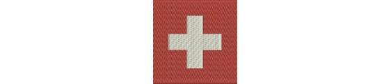 Aufnäher Flaggen CH Kantone grösse midi