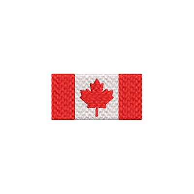 Aufnäher Flagge Kanada midi