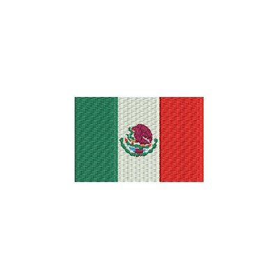 Aufnäher Flagge Mexico midi
