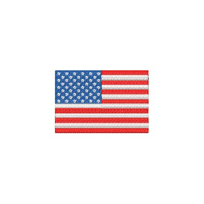 Aufnäher Flagge USA midi
