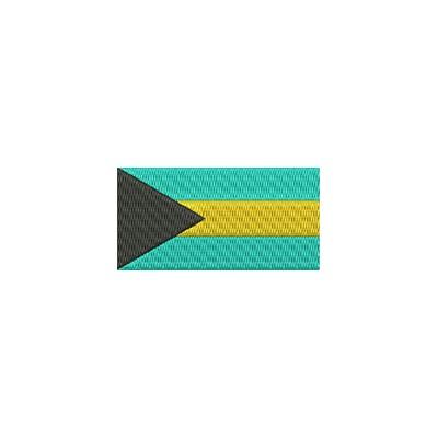 Aufnäher Flagge Bahamas midi