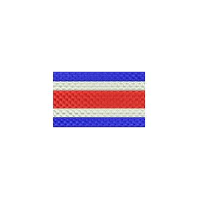 Aufnäher Flagge Costa Rica midi