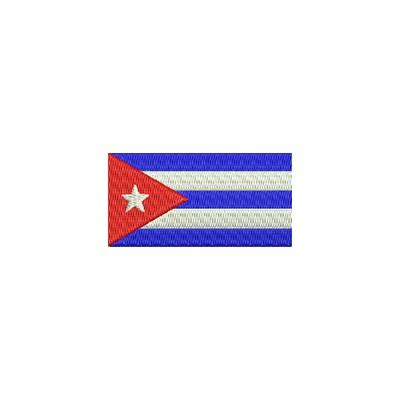 Aufnäher Flagge Cuba midi