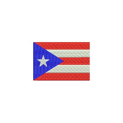 Aufnäher Flagge Puerto Rico midi