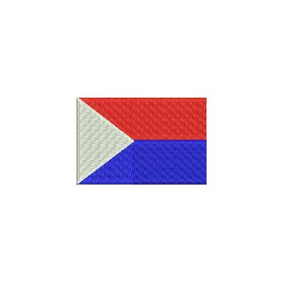 Aufnäher Flagge St. Martin midi
