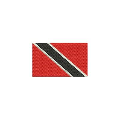 Aufnäher Flagge Trinitad Tobago midi