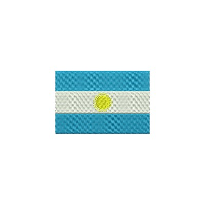 Aufnäher Flagge Argentinien midi