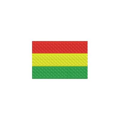 Aufnäher Flagge Bolivien midi
