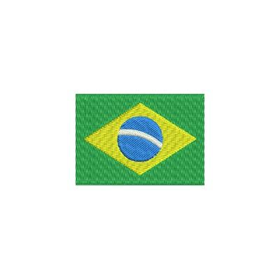 Aufnäher Flagge Brasilien midi