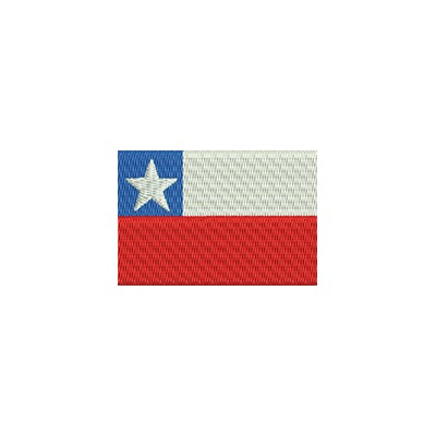 Aufnäher Flagge Chile midi