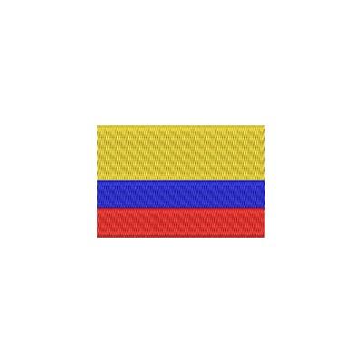 Aufnäher Flagge Columbien midi