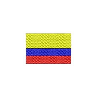 Aufnäher Flagge Ecuador midi