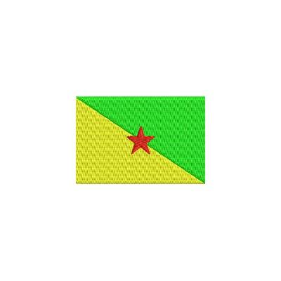 Aufnäher Flagge Französische Guyana midi