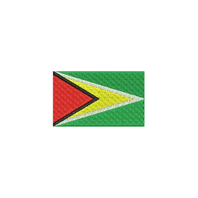 Aufnäher Flagge Guyana midi