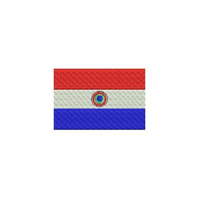 Aufnäher Flagge Paraguay midi