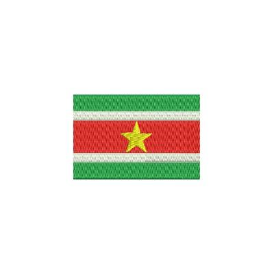 Aufnäher Flagge Suriname midi