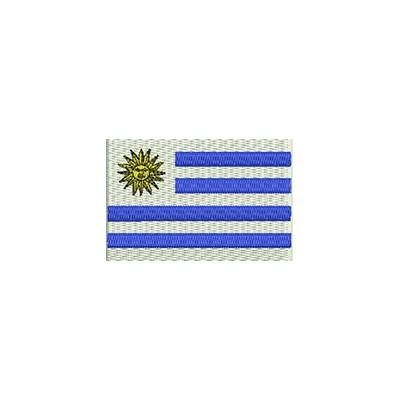 Aufnäher Flagge Uruguay midi