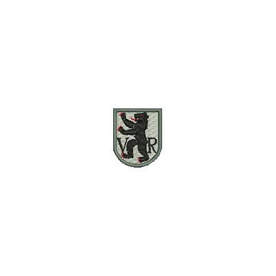 Aufnäher Wappen Appenzell Au. mini