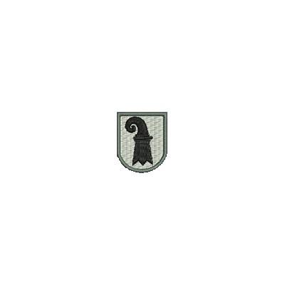 Aufnäher Wappen Basel Stadt mini