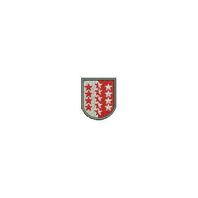 Aufnäher Wappen Wallis mini