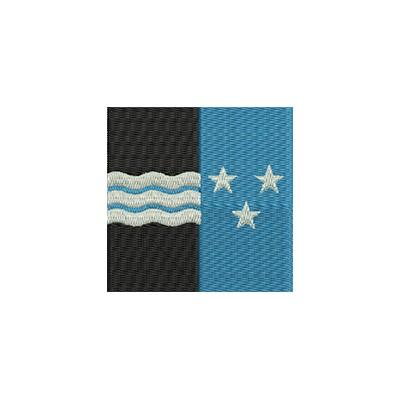 Aufnäher Flagge Aargau midi