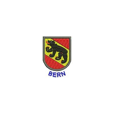 Aufnäher Wappen Bern mini mit Name