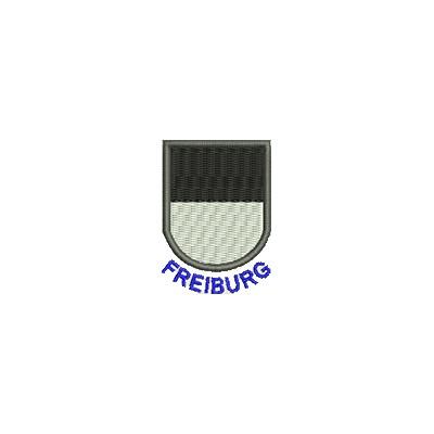 Aufnäher Wappen Freiburg mini mit Name