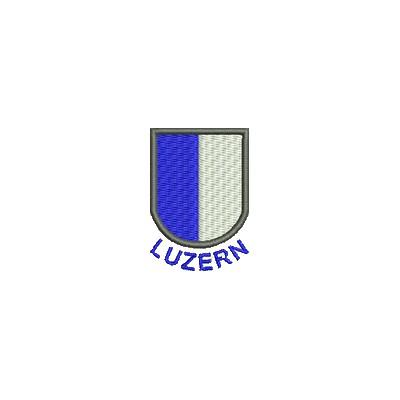 Aufnäher Wappen Luzern mini mit Name