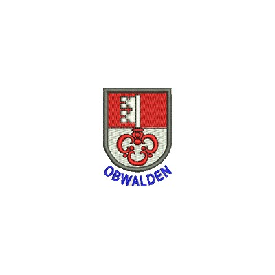 Aufnäher Wappen Obwalden mini mit Name